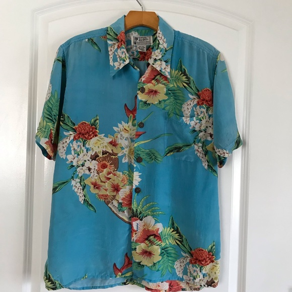 11cedb2b Avanti Shirts | Silk Short Sleeve Button Down | Poshmark
